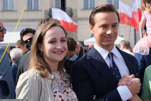 Krzysztof Bosak na Marszu Życia i Rodziny