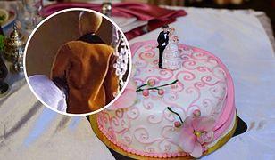 Tort weselny obruszył internautów. Uznali, że jest co najmniej nieprzyzwoity
