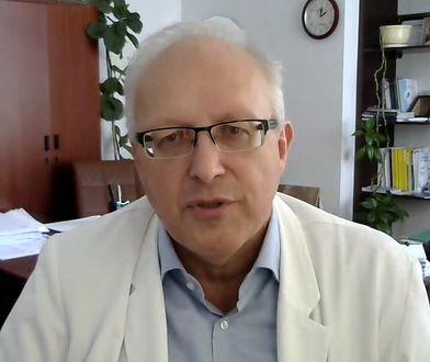 Prof. Robert Flisiak mówi o maseczkach ochronnych. Tłumaczy, kiedy ich noszenie ma sens