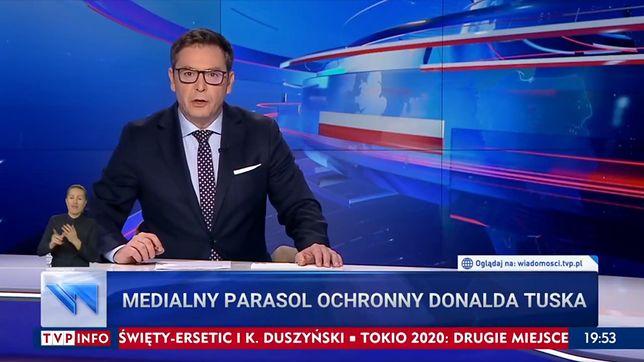 """- Kłamstwa, manipulacje i ataki - mówił w """"Wiadomościach"""" Michał Adamczyk"""
