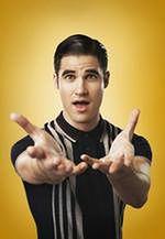 "Darren Criss napisał piosenki do ""Glee"""
