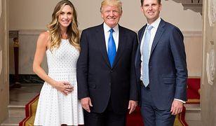 """""""Rzadko jesteśmy doceniani, lub ktoś nam dziękuje"""" - napisał Eric Trump."""