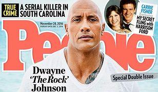 Dwayne 'The Rock' Johnson najseksowniejszym mężczyzną 2016 roku!