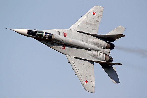 Rosyjski myśliwiec MiG-29