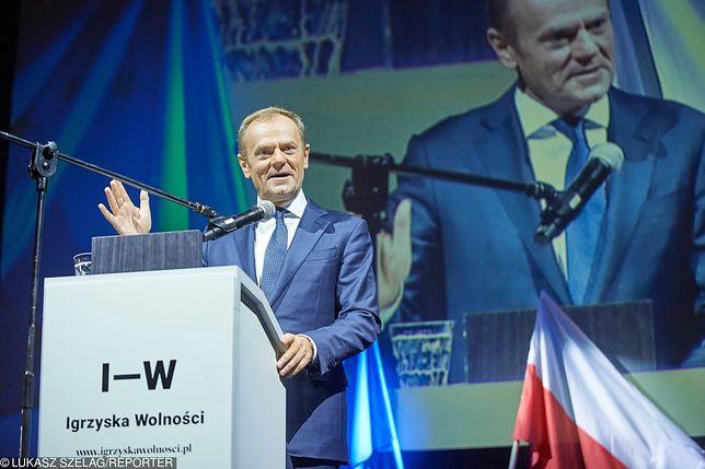 """""""Igrzyska Wolności"""". Donald Tusk nie otrzymał zaproszenia"""