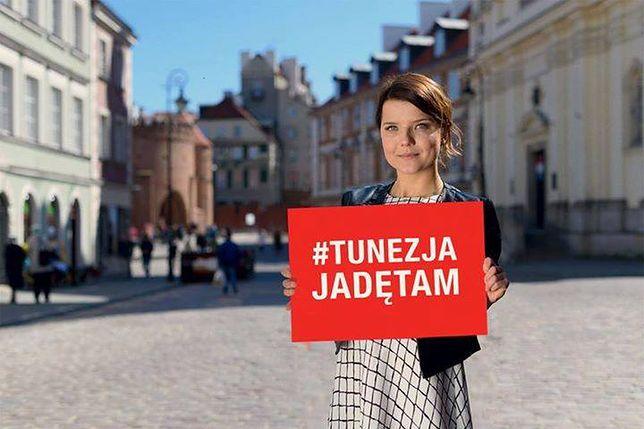 Joanna Jabłczyńska tłumaczy się z promowania Tunezji