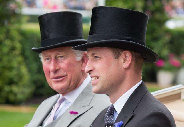 Książę Karol jest ojcem księcia Williama
