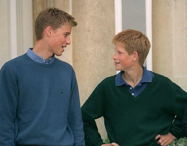 Popularny, przystojny szesnastoletni William imponował młodszemu bratu.