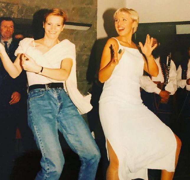 Agata Młynarska pochwaliła się zdjęciem z lat 90.