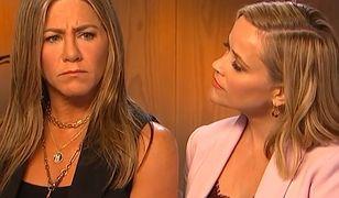 """""""Przyjaciele"""": Jennifer Aniston i Reese Witherspoon odtworzyły scenę sprzed 19 lat"""