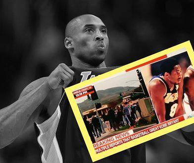 Kobe Bryant nie żyje. Bardzo niezręczna wpadka w programie na żywo