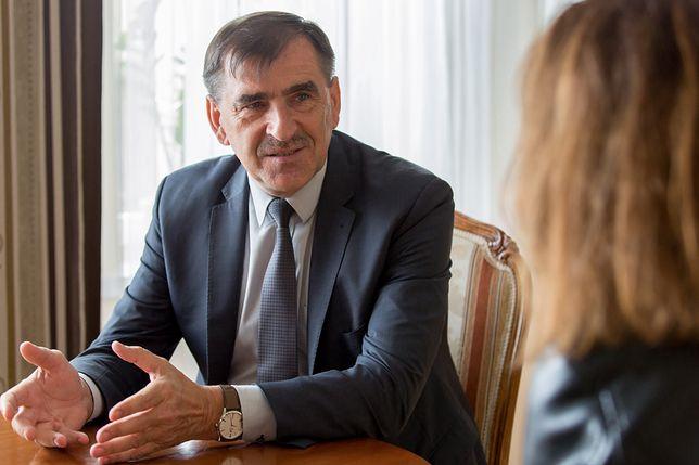 Burmistrz Dariusz Jaszczuk