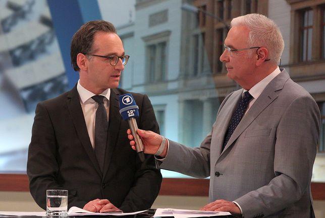Heiko Mass (z lewej) podkreślił, że Europa musi mówić jednym głosem
