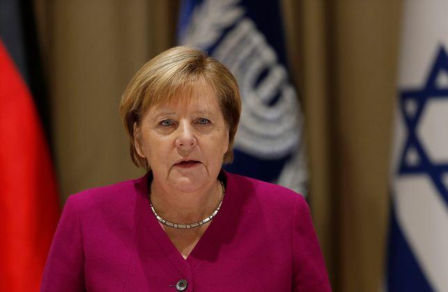 Kanclerz Niemiec Angela Merkel podczas wizyty w Izraelu (zdj. arch.)