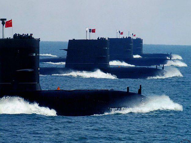Chińskie okręty podwodne Typu 039
