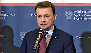 Mariusz Błaszczak odpowiada na oburzenie sąsiadów ws. projektu polskiego paszportu