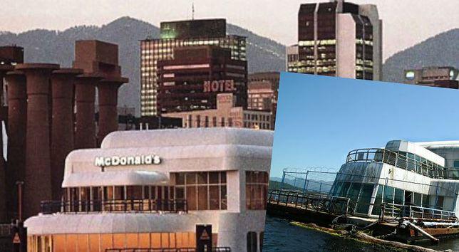 Pływająca restauracja była chlubą McDonald's. Po 30 latach wygląda przygnębiająco