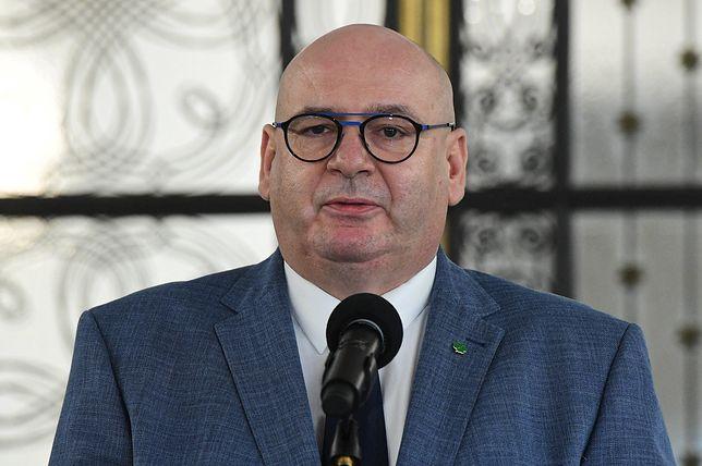 """""""Don Stanislao"""". Wicemarszałek Sejmu Piotr Zgorzelski komentuje"""
