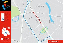 Od dzisiaj remont ulicy Powsińskiej. Sprawdź objazd