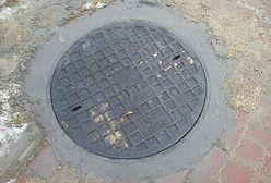 Ukradli włazy do studzienek kanalizacyjnych