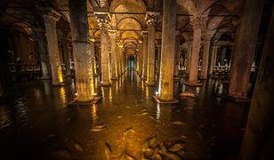 Atrakcje Stambułu - zatopiony pałac
