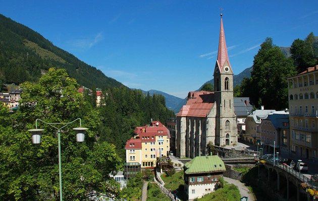 Bad Gastein - uzdrawiające jaskinie