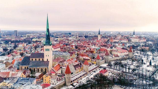 Tallin zimową porą