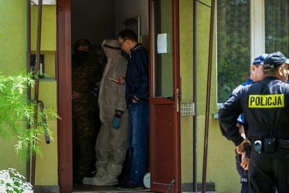 Wybuch w bloku w Ursusie. Policja złapała sprawcę