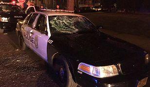 Starcia między policją a czarnoskórymi w USA