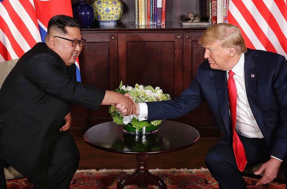 Szczyt w Singapurze. Komentarze: Propagandowe zwycięstwo Kima