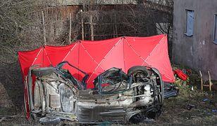 Krępa. Tragiczny wypadek na DW 473 w Łódzkiem