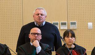 Ojciec Ewy Tylman z trudem powstrzymywał nerwy na sali sądowej