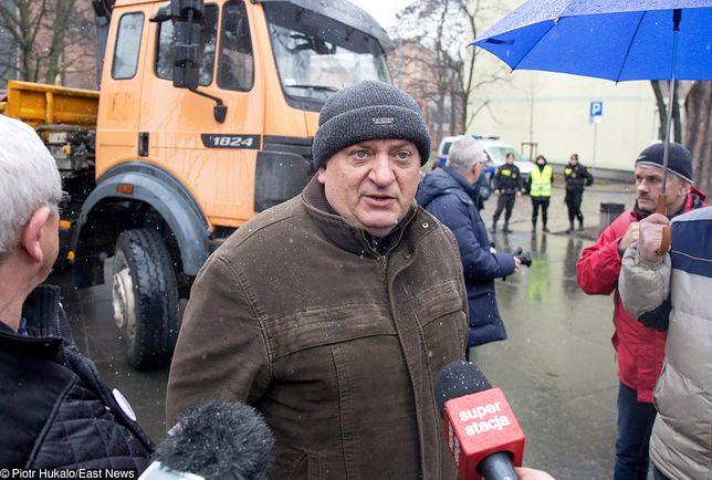 Karol Guzikiewicz, wiceszef stoczniowej Solidarności w Gdańsku