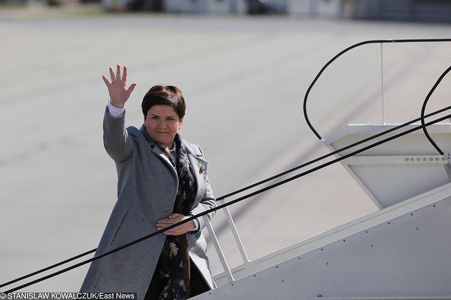 Z wykazu lotów wynika, że Beata Szydło korzystała 164 razy z rządowych maszyn