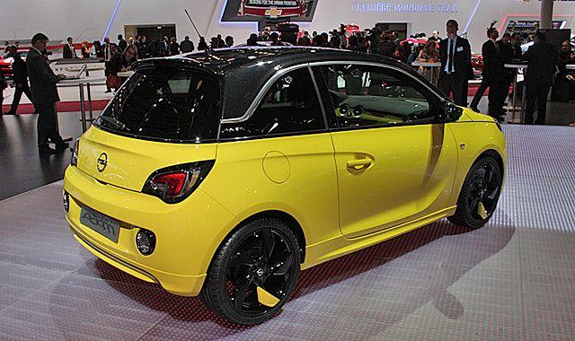Opel Adam bez wersji elektrycznej