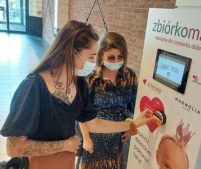 Wrocław. W mieście powstał pierwszy w Polsce dobromat. Teraz każdy może pomóc dzieciom z chorobą nowotworową