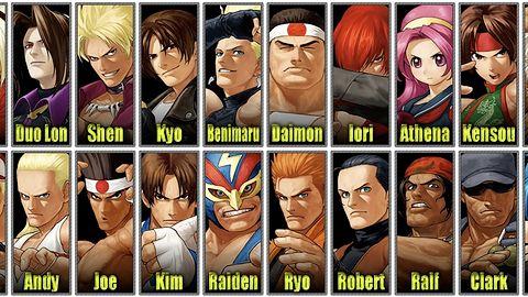Znamy już listę postaci w King of Fighters XII