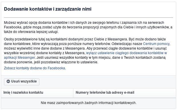 Zarządzanie kontaktami w Facebooku... zaraz zaraz, jakimi kontaktami? Polecamy ten styl życia