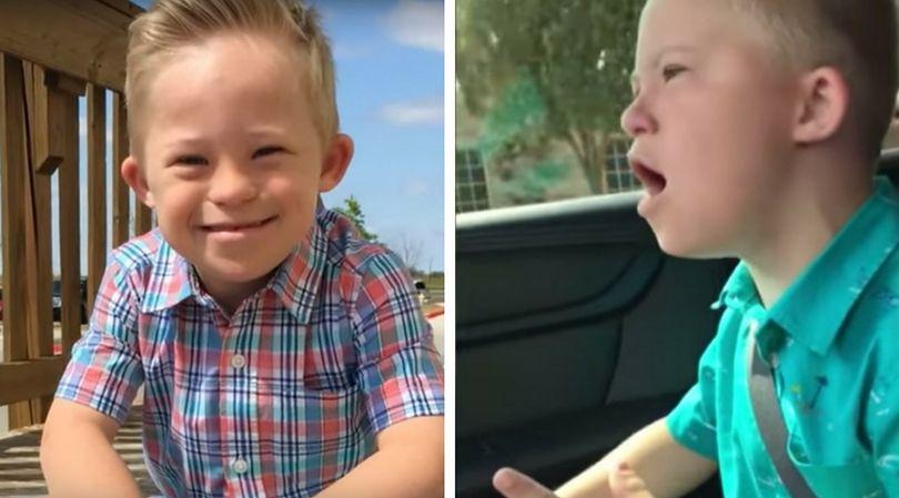 9-letni Dane Miller chorujący na zespół Downa. Poruszył świat swoim śpiewem