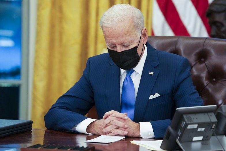 Joe Biden zdruzgotany. Słowa nie są w stanie tego opisać