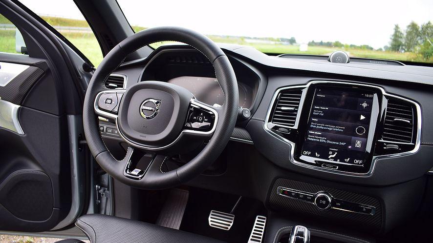W autach Volvo skorzystasz z aplikacji na Androida, nawet jeśli używasz iPhone'a