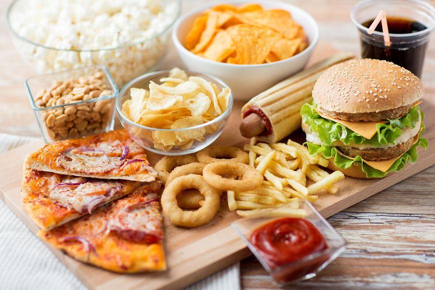 Fast foody i słone przekąski