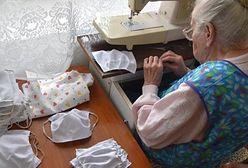 96-latka uszyła kapcie i fartuszek na licytację WOŚP. Czegoś takiego się nie spodziewała