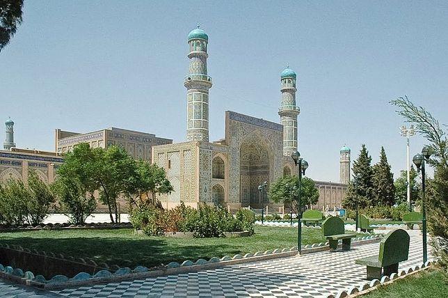 Do ataku doszło w pobliżu Wielkiego Meczetu w Herat