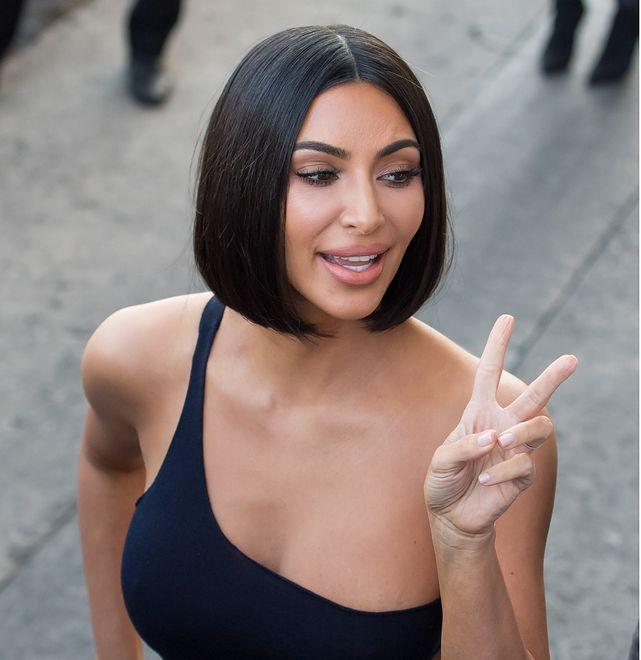 Kim Kardashian pokazała się w skąpym bikini. Internauci zauważyli jeden szczegół