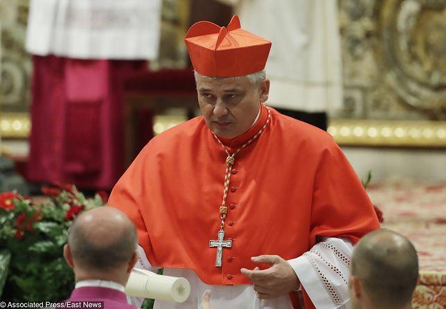 Abp Konrad Krajewski kardynałem. Otrzymał od papieża biret i pierścień