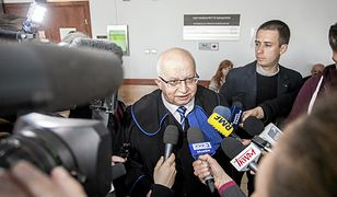 Radca prawny Lech Obara w kwietniu po ogłoszeniu wyroku ws. pozwu Karola Tendery
