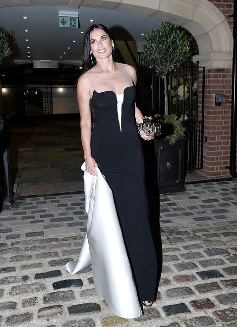 Demi Moore zachwyciła na królewskim ślubie