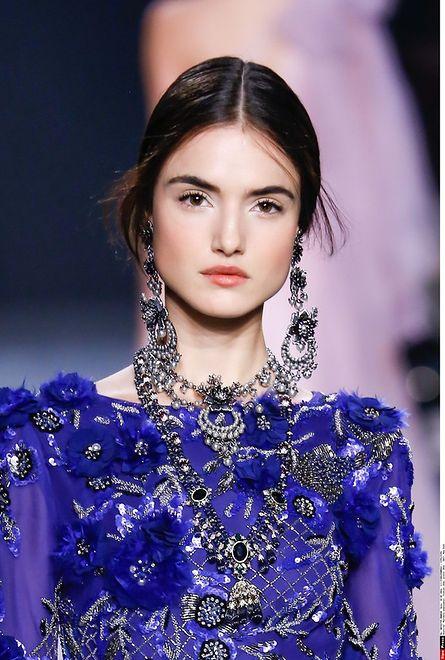 Najpiękniejsze makijaże z tygodnia mody w Nowym Jorku