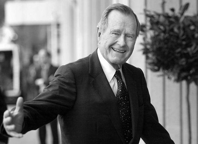 Trump po śmierci Busha: poprowadził nasz naród i świat ku zakończeniu zimnej wojny